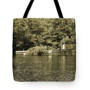 Trestle End Tote Bag