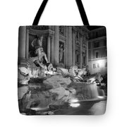 Trevi Fountain Night 2 Tote Bag