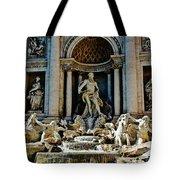 Trevi Fountain Vertical  Tote Bag