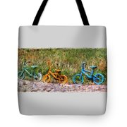 Tri Bike Tote Bag