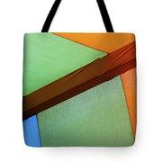 Tri Color Minimal  Tote Bag