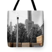 Tri Towers Tote Bag