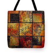 Trial By Fire Tote Bag
