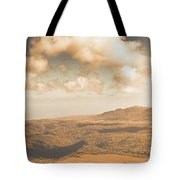 Trial Harbour Landscape Panorama Tote Bag