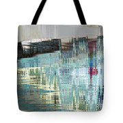 Triangle Lake Tote Bag