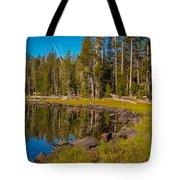 Triangle Lake Tote Bag