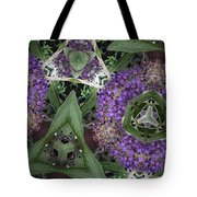 Triangle Surrounded Tote Bag
