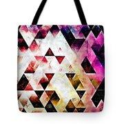 Triangles Autumn Tote Bag