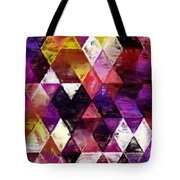 Triangles Impressionism Tote Bag