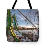 Triangles In The Harbor Tote Bag
