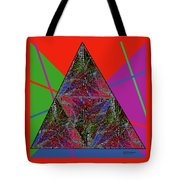 Triangular Thoughts Tote Bag