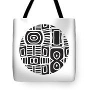 Tribal Ball- Art By Linda Woods Tote Bag