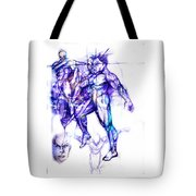 Tribal Dancers Tote Bag