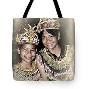 Tribal Girls Tote Bag