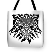 Tribal Lion Alpha Tote Bag