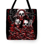 Tribal Massacre  Tote Bag