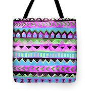 Tribal Pattern 01 Tote Bag