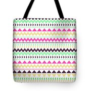 Tribal Pattern 02 Tote Bag
