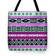 Tribal Pattern 06 Tote Bag
