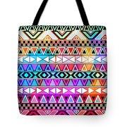 Tribal Pattern 08 Tote Bag