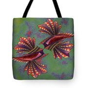 Tribal Sea Creature 1 Tote Bag