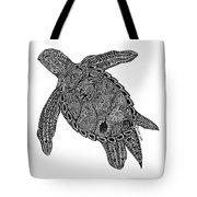 Tribal Turtle I Tote Bag by Carol Lynne