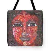 Tribal Woman Tote Bag