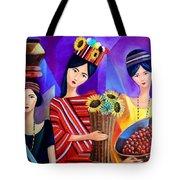 Tribal Women Tote Bag