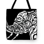Tribephant Reverse Tote Bag