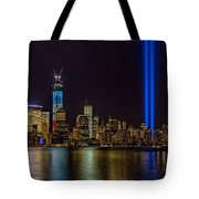 Tribute In Lights Memorial Tote Bag by Susan Candelario