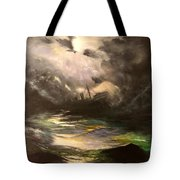 Tribute To Aivazovsky Tote Bag