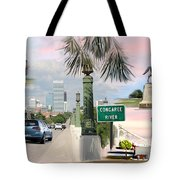 Tribute To Columbia Sc Tote Bag