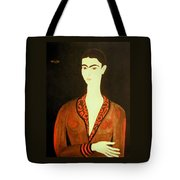 Tribute To Frida Tote Bag