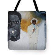 Tribute To Mr. Bernie Mac Tote Bag