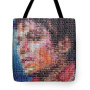Tribute To The King Of Pop V2 Tote Bag