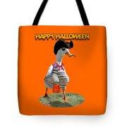 Trick Or Treat For Cap'n Duck Tote Bag