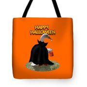 Trick Or Treat For Count Duckula Tote Bag
