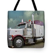 Trick Transport Peterbilt Tote Bag