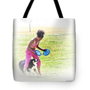 Tricks Tote Bag by Brian Wallace