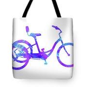 Tricycle Art Tote Bag