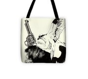 Trigger Finger Tote Bag