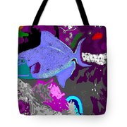 Trigger Fish Tote Bag
