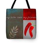 Trilioli Kitchen Decor - Red 153z Tote Bag