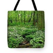 Trillium Woods Vi Tote Bag