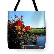 Trim Florals Tote Bag