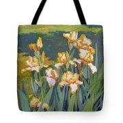 Trimmed In Gold Tote Bag