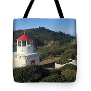 Trinidad Head Memorial Lighthouse, California Lighthouse Tote Bag