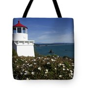 Trinidad Lighthouse California Tote Bag