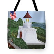 Trinidad Memorial Lighthouse Tote Bag