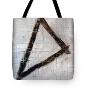 Trinity Channels Abstract Painting Tote Bag